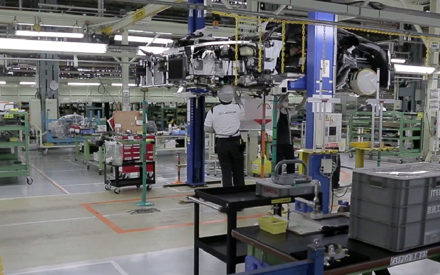 Lexus LFA Being Built Inside Factory By Takumi 021