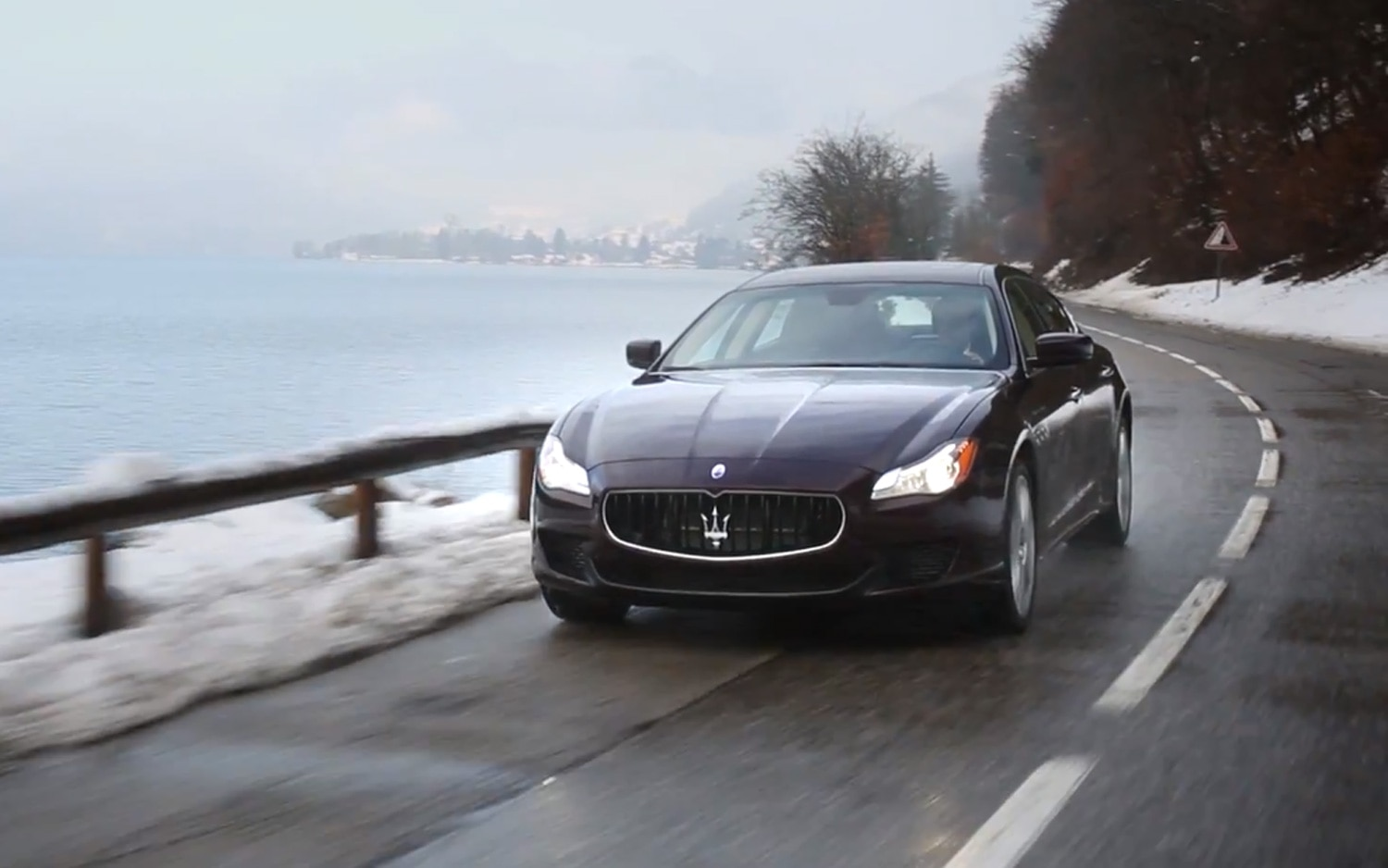Maserati Quattroporte S Q4 Snow Video Image 31