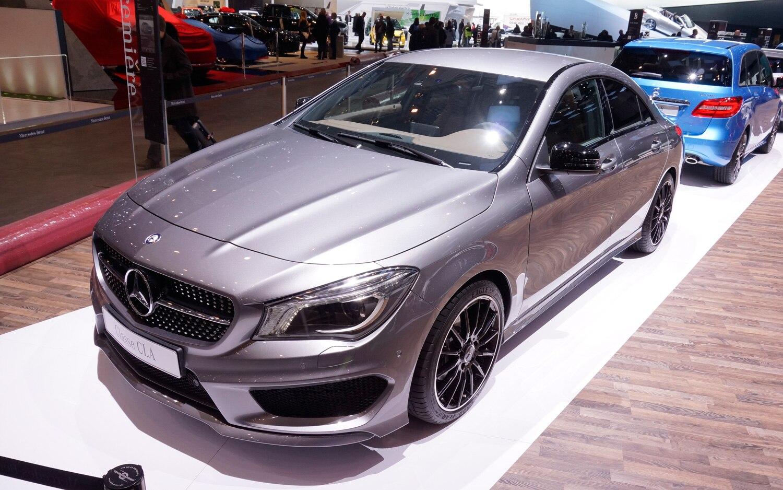 Mercedes Benz CLA Class Front View1