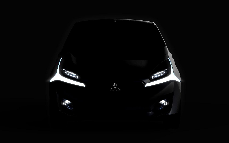 Mitsubishi CA MiEV Teaser Front View1