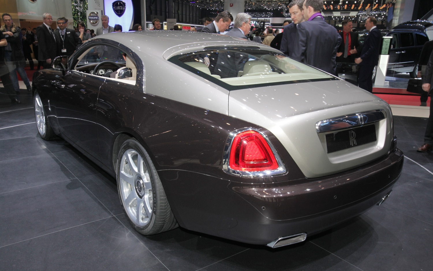 First Look: 2014 Rolls-Royce Wraith - Automobile Magazine