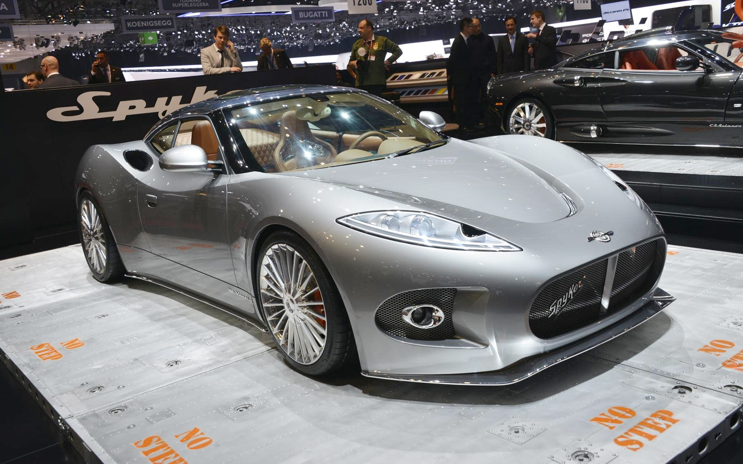 Spyker B6 Venator Front Three Quarters1