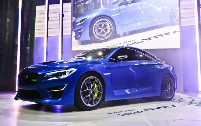 Subaru WRX Concept Front Three Quarter1 660x413