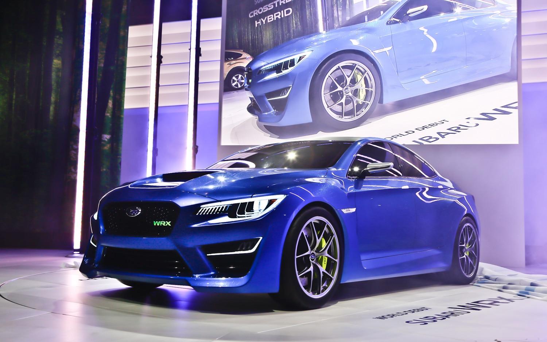 First Look Subaru WRX Concept  Automobile Magazine