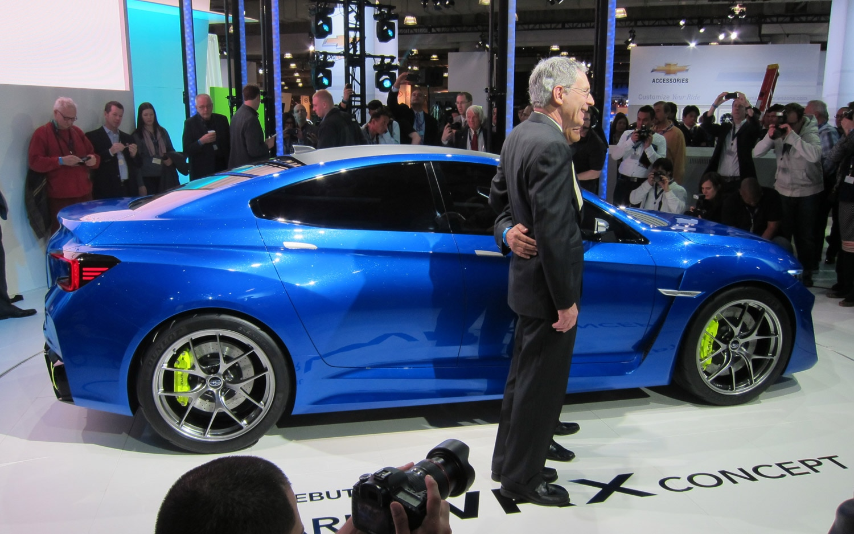 Subaru WRX Concept Profile1