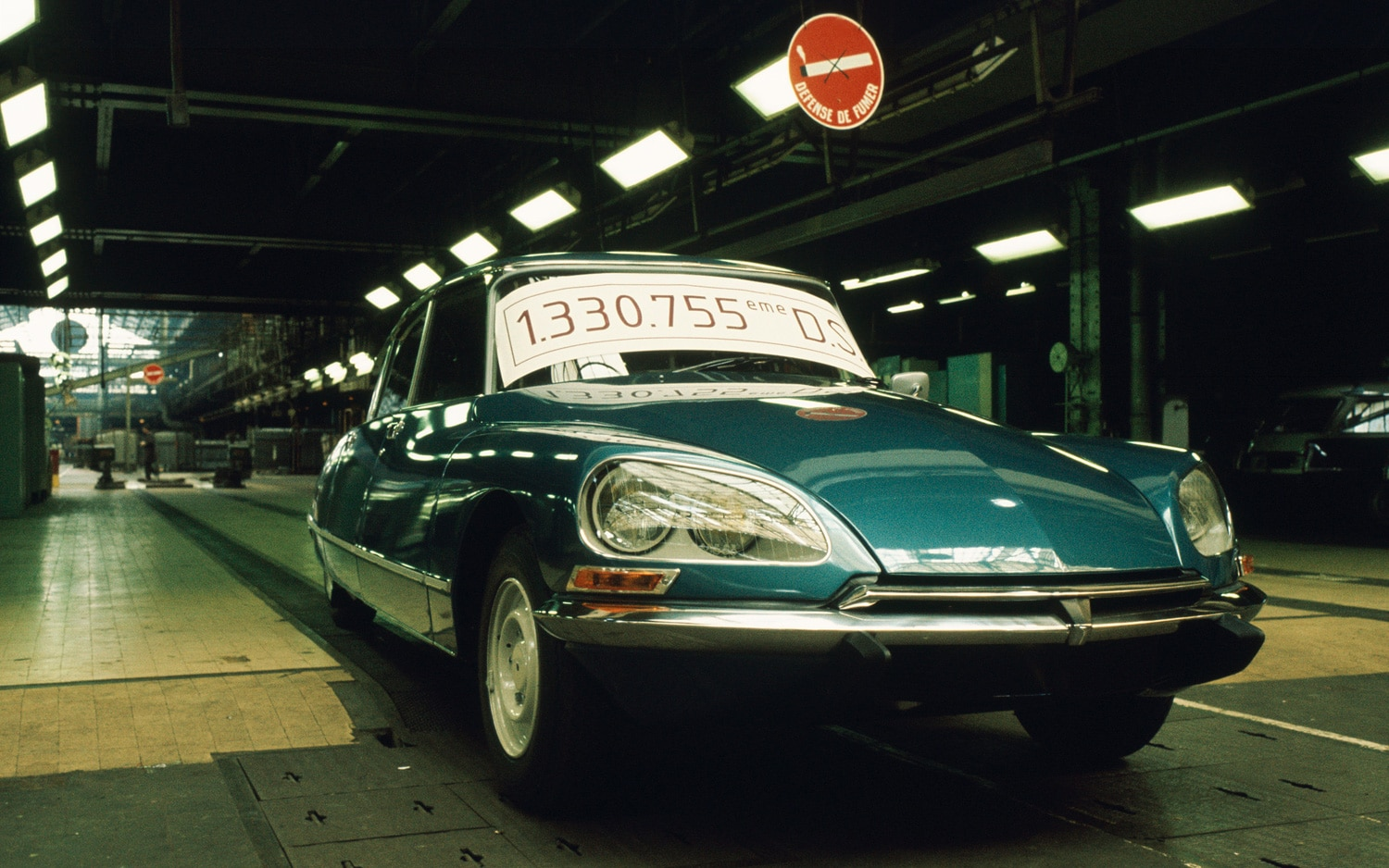 1975 Citroen DS Last Car On Assembly Line Front Three Quarters View1