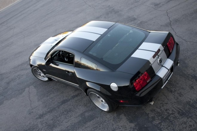 2007 Shelby Mustang GT Rear Three Quarters With Wide Body Kit1 660x440