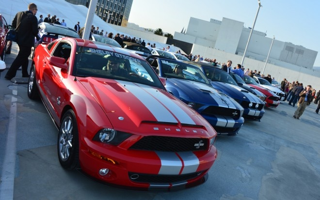 2011 Ford Shelby GT500 At Car Show 660x413