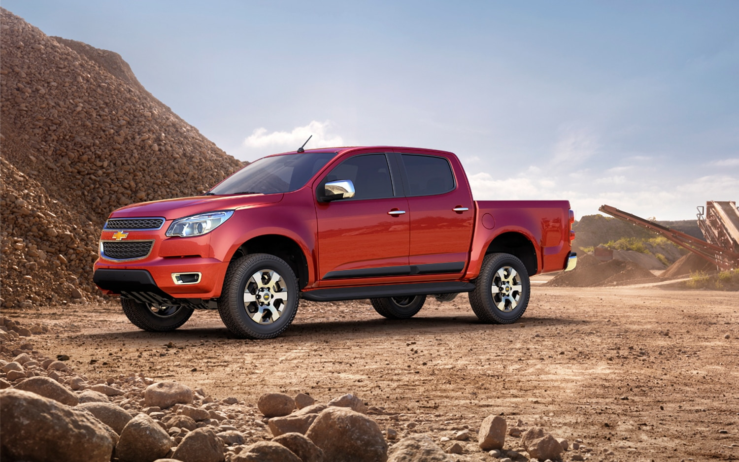 report gm readies lifestyle oriented midsize pickups. Black Bedroom Furniture Sets. Home Design Ideas