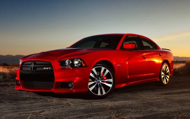 2012 Dodge Charger SRT8 Front Three Quarter1 660x413