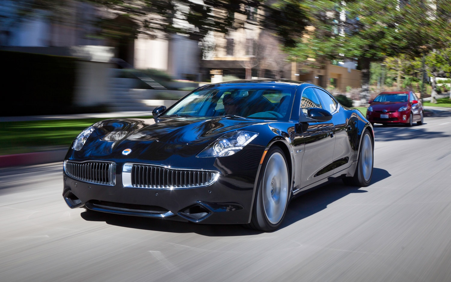 2012 Fisker Karma Front Three Quarter 11