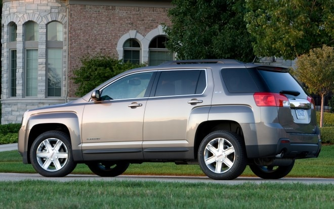 2012 GMC Terrain SLE Rear Three1 660x413