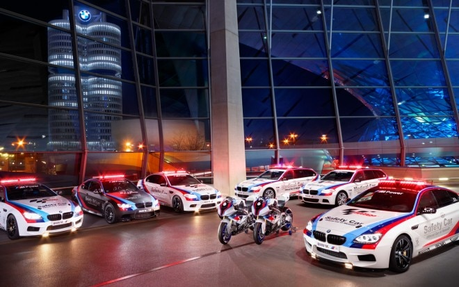 2013 BMW M MotoGP Safety Car Lineup1 660x413