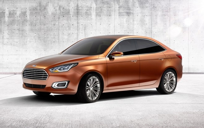 2013 Ford Escort Concept Front Three Quarter 31 660x413