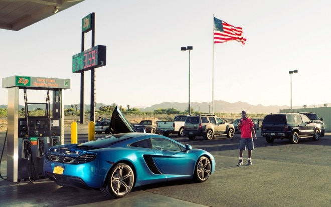 2013 McLaren MP4 12C Rear Three Quarter Gas Station1 660x413