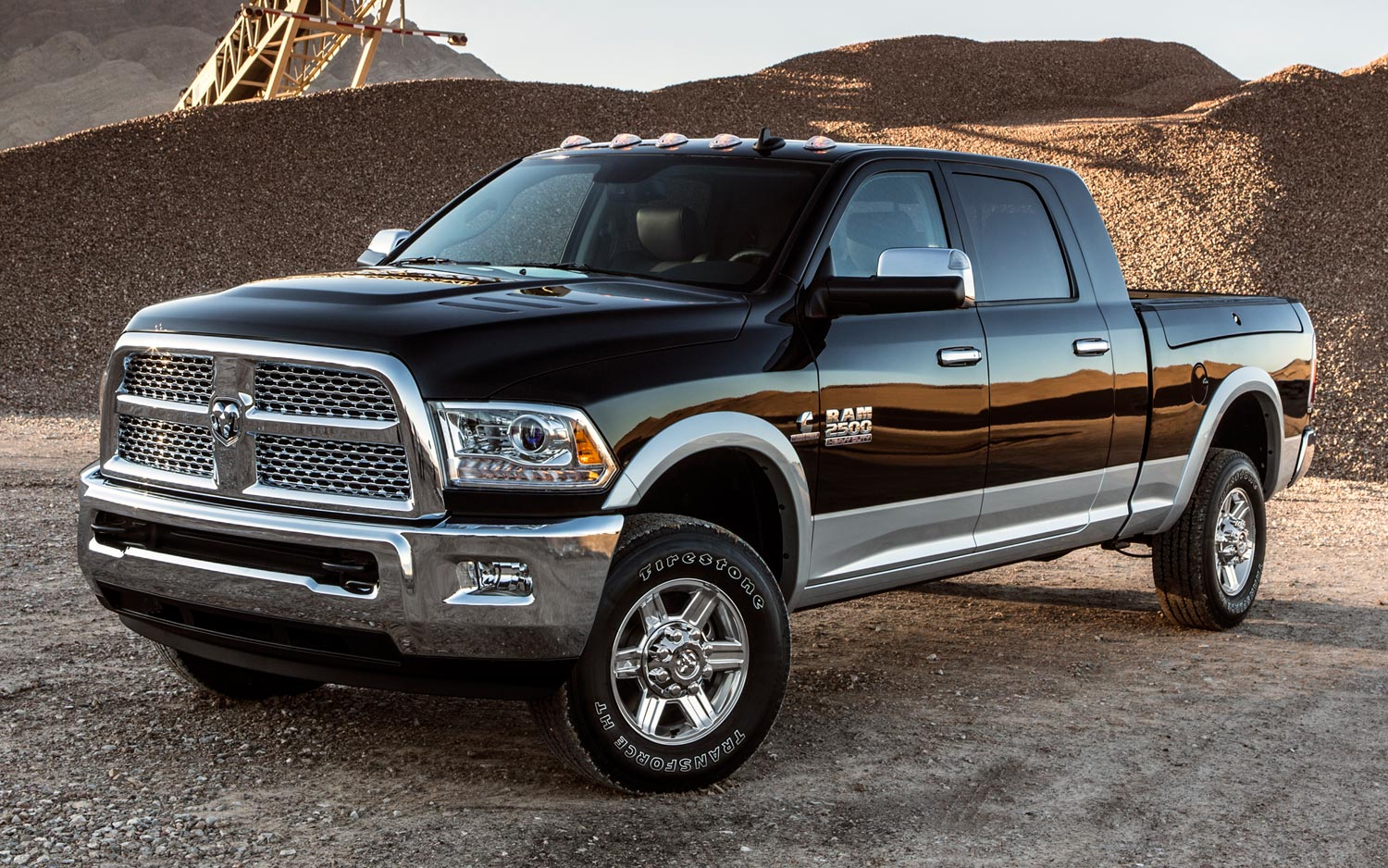 2013 Ram 2500 Crew Cab Front Three Quarters View