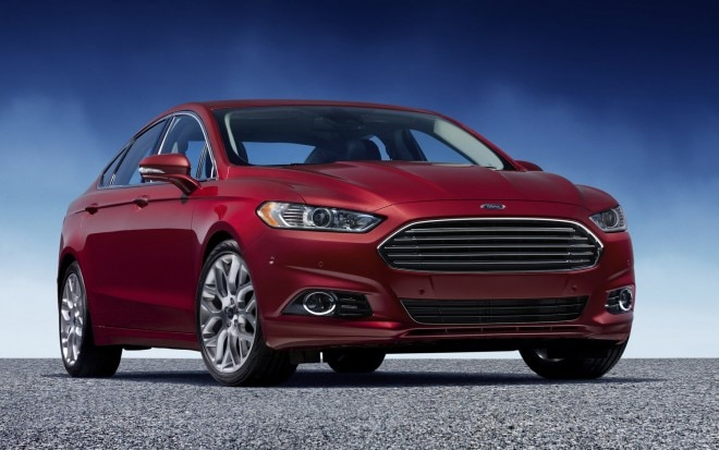 2013 Ford Fusion Red Three Quarter Front1 660x413