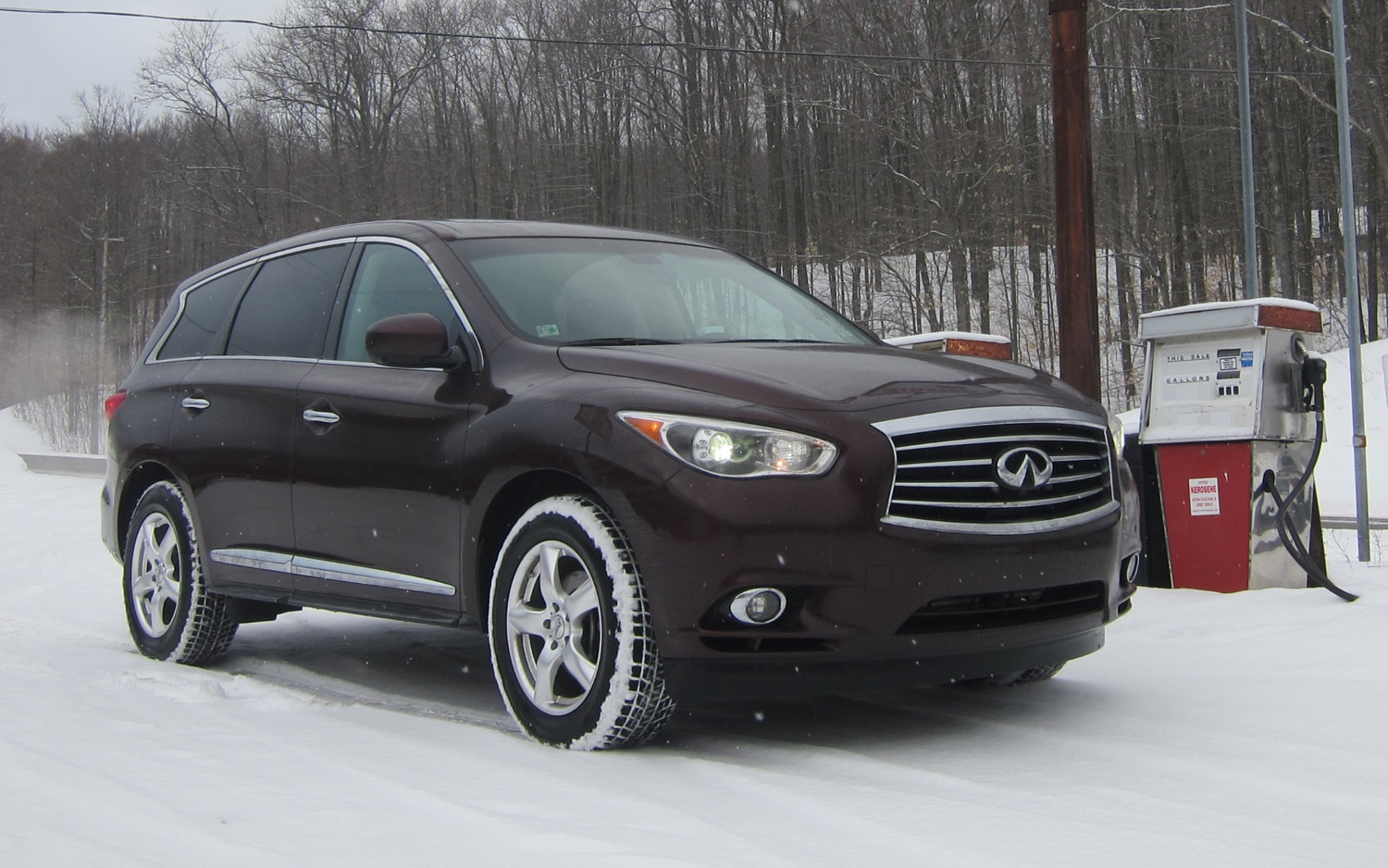 2013 Infiniti Jx 35 Gas Pump