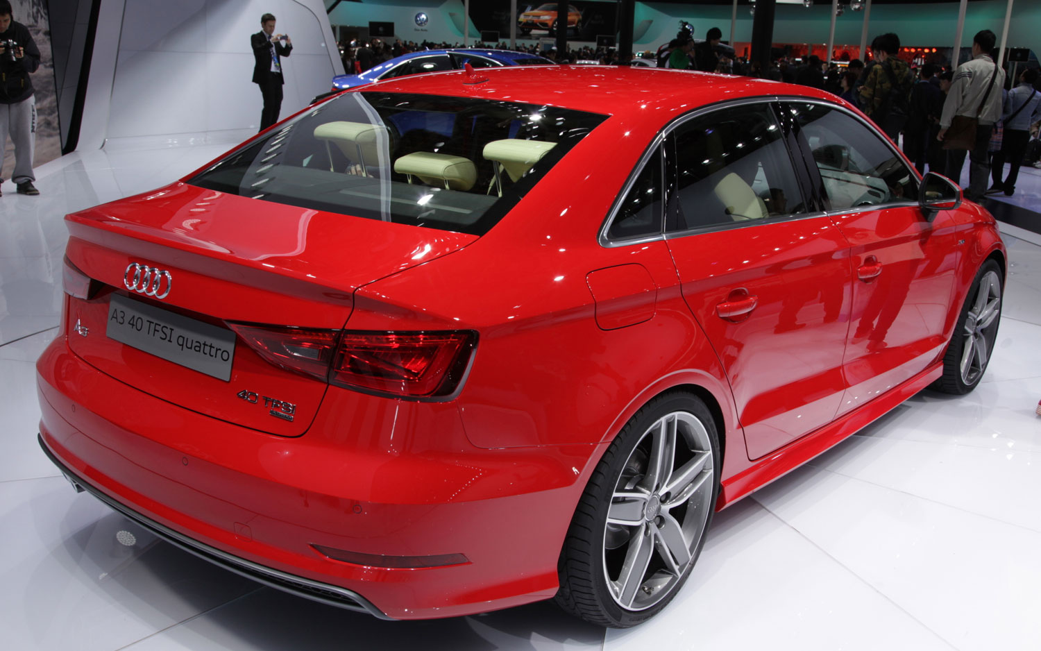 2014 Audi A3 Right Rear Angle1