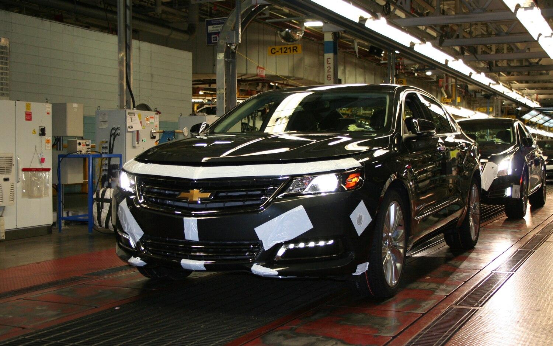 2014 Chevrolet Impala Front Three Quarter Assembly1