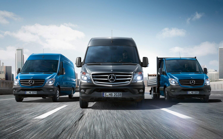 2014 Mercedes Benz Sprinter Lineup Front View1