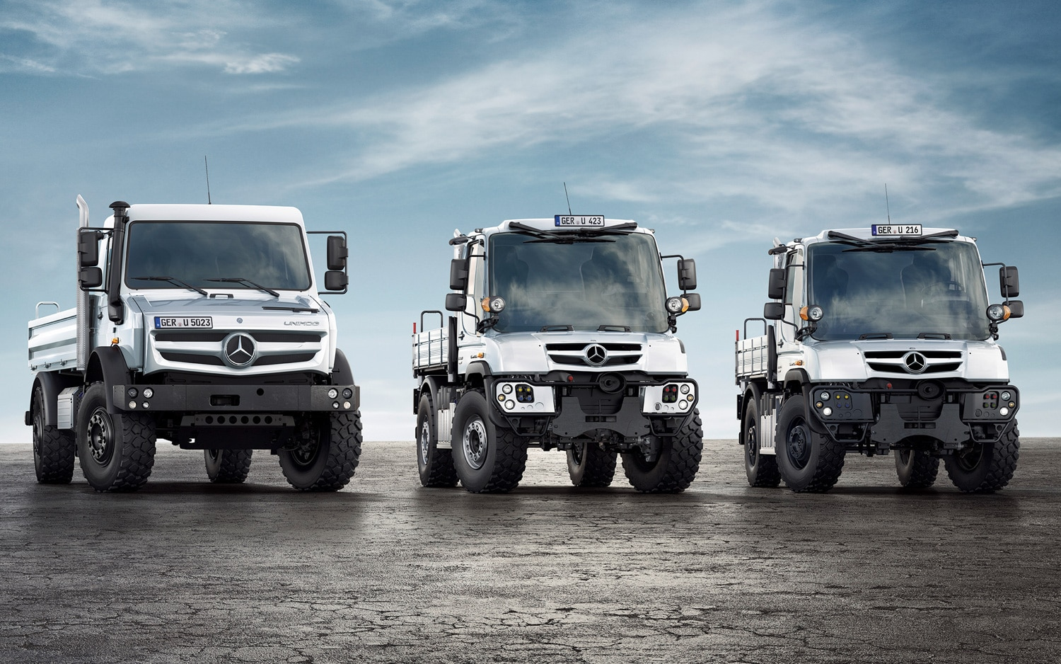 2014 Mercedes Benz Unimog Model Range 21