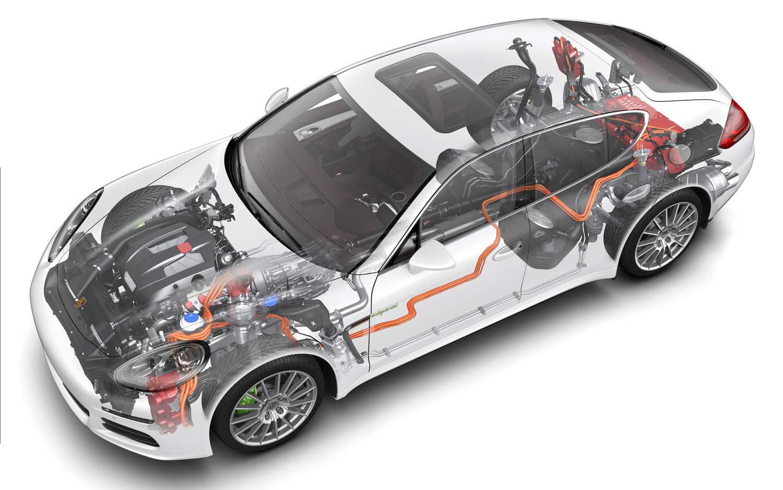 2014 Porsche Panamera S E Hybrid Diagram1