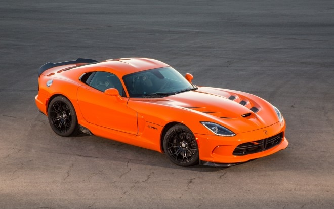 2014 SRT Viper TA Front Three Quarter1 660x413