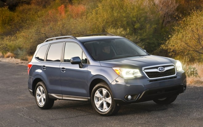 2014 Subaru Forester Front Three Quarter1 660x413