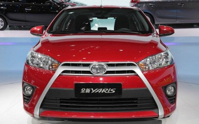 2014 Toyota Yaris Front Shanghai1 660x413
