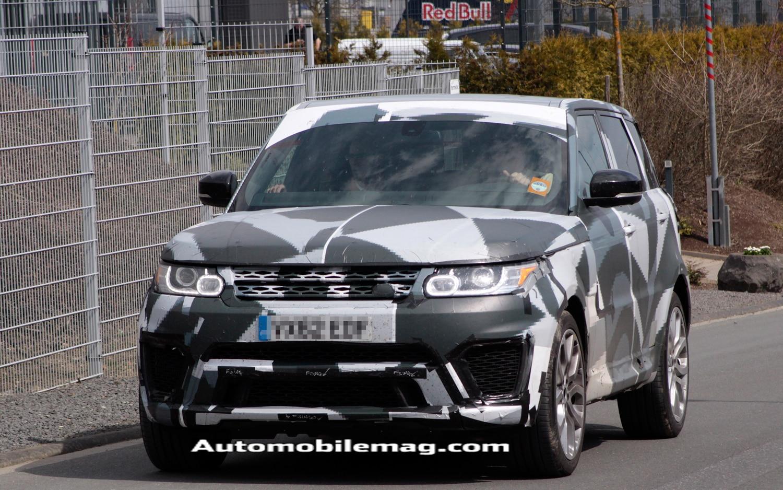 2015 Range Rover Sport R Front Spied 11