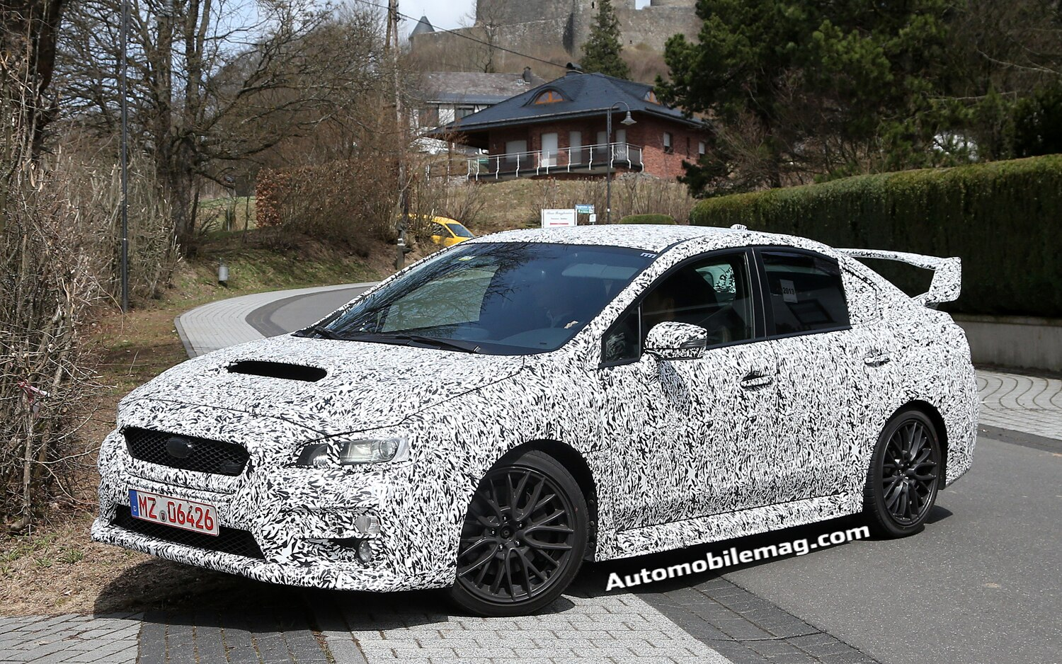 2015 Subaru WRX STI Front Three Quarter Spied 21