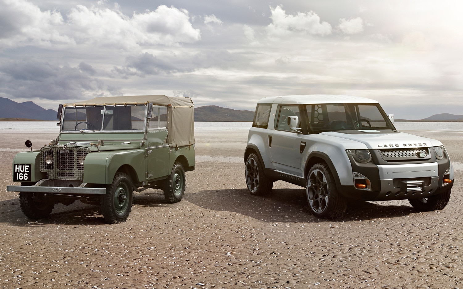 65 Years Of Land Rover Lead Image With DC100 Concept1