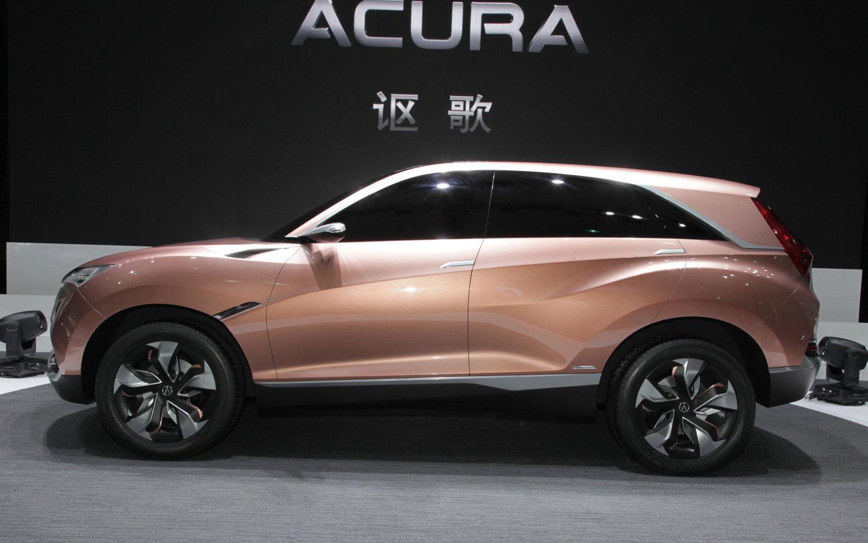 Honda Concept M Acura SUVX Debut In Shanghai - Price of acura suv
