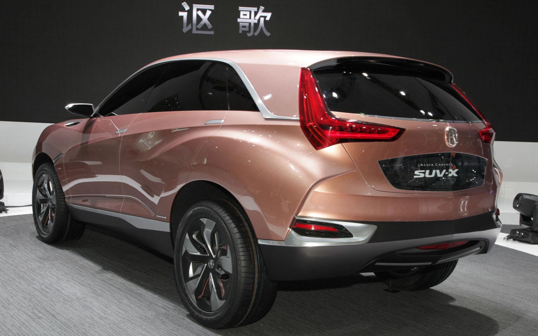 Honda Concept M Acura Suv X Debut In Shanghai