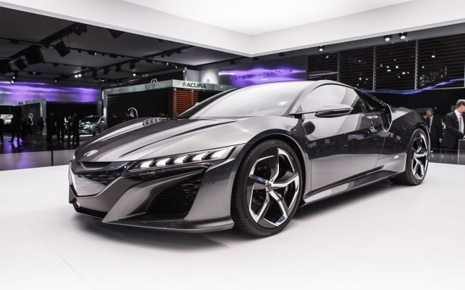Acura NSX Front Left Side View1 660x413