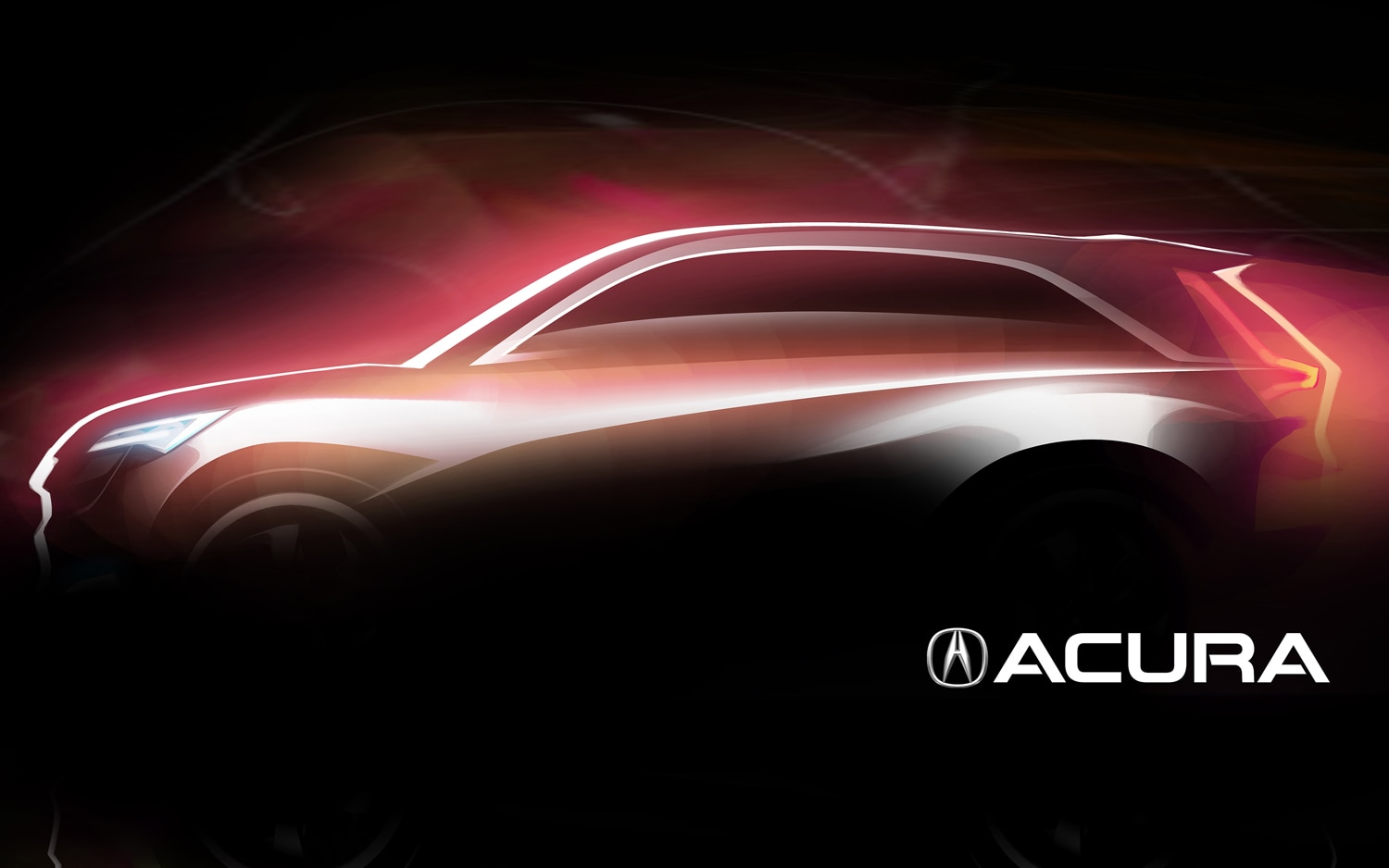 Acura Shanghai Concept Teaser Left Side View1