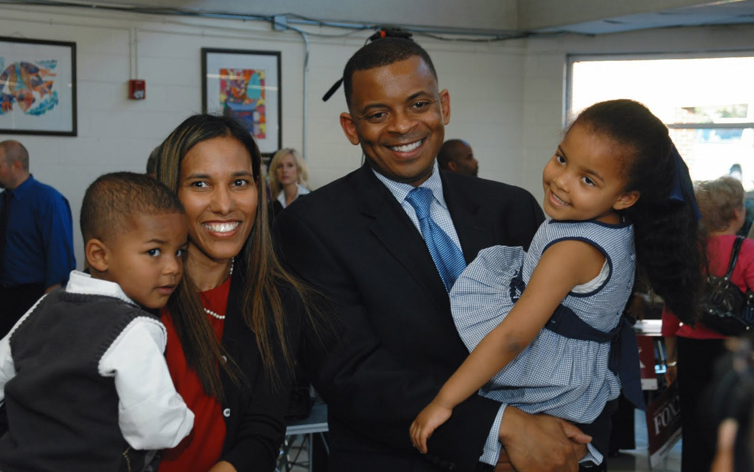 Anthony Foxx With Family