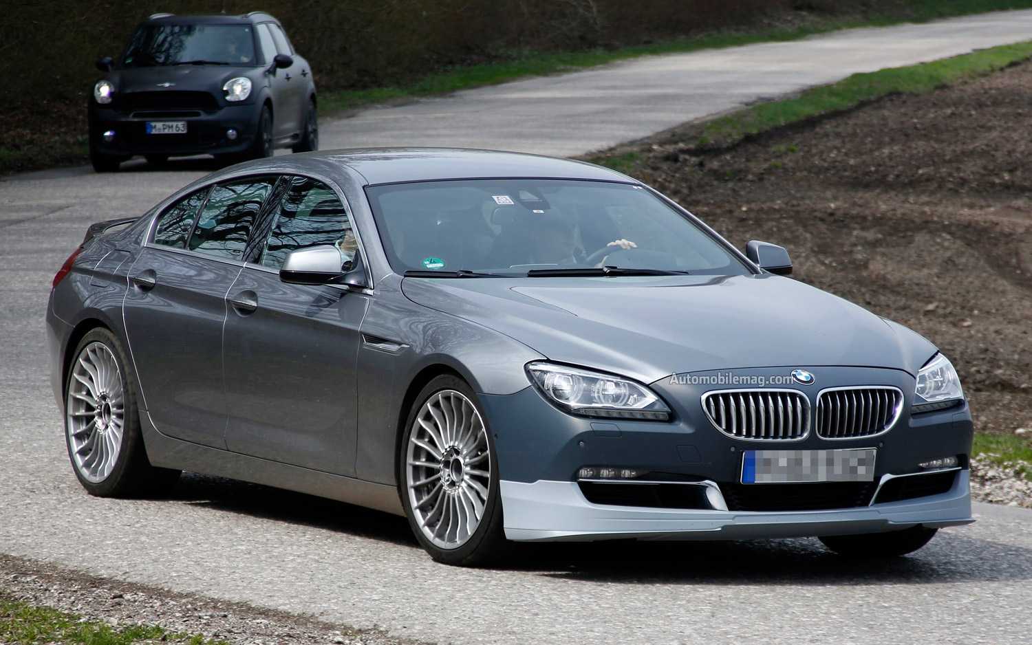 spied bmw 4 series convertible alpina 6 series gran coupe. Black Bedroom Furniture Sets. Home Design Ideas