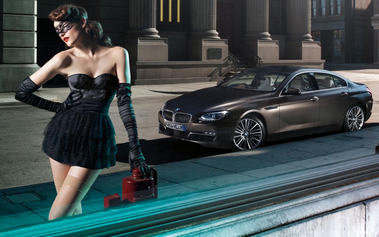 BMW 6 Series Gran Coupe Uwe Duttmann Model Reflection In Window Close Crop1