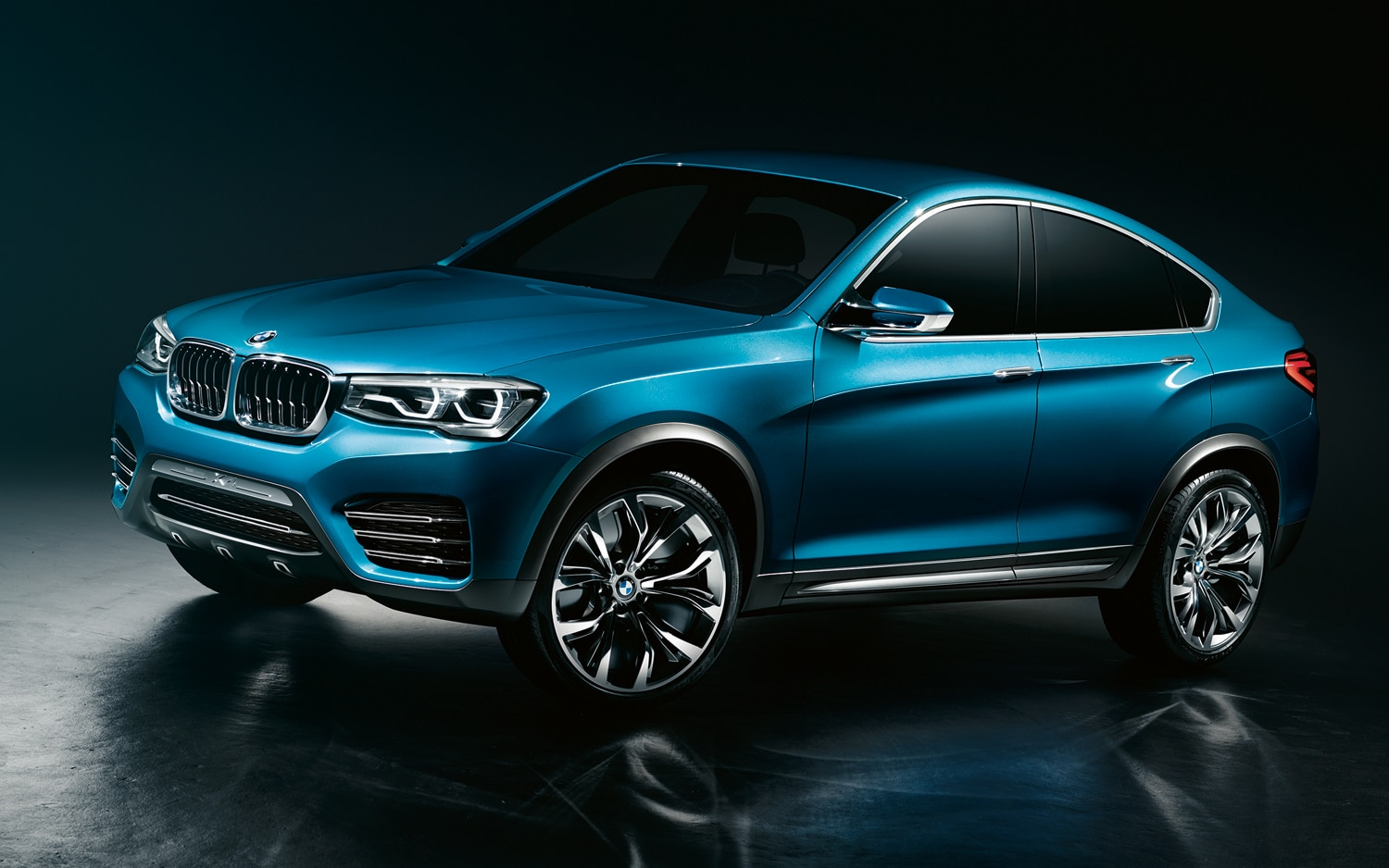 BMW Concept X4 Front View1
