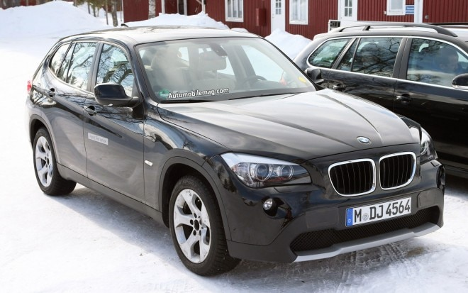 BMW X1 Hybrid EV Prototype Front Three Quarter1 660x413