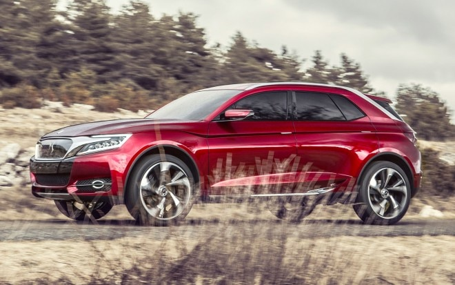 Citroen DS Wild Rubis Concept Front Three Quarter Motion1 660x413