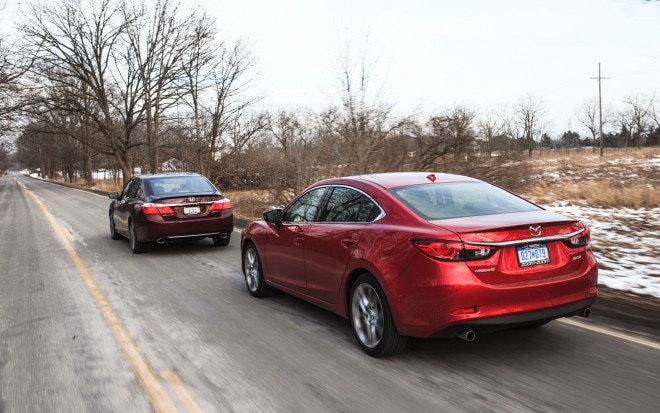 Family Sedan Comparo Honda Accord Vs Mazda 6 Rear Left View1 660x413