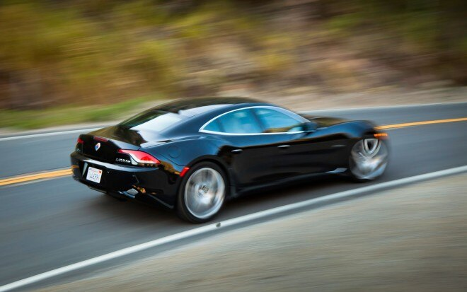 Fisker Karma Black Rear Three Quarter In Motion1 660x413