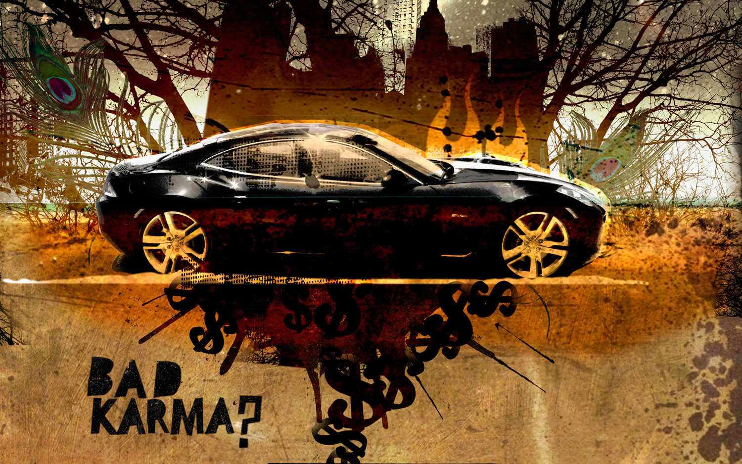 Fisker Karma Illustration Cropped