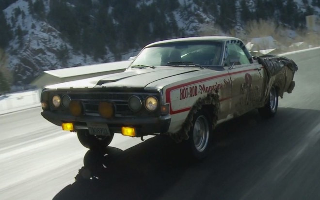Hot Rod Ford Ranchero On Highway1 660x413