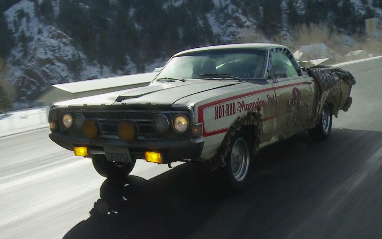 Hot Rod Ford Ranchero On Highway1