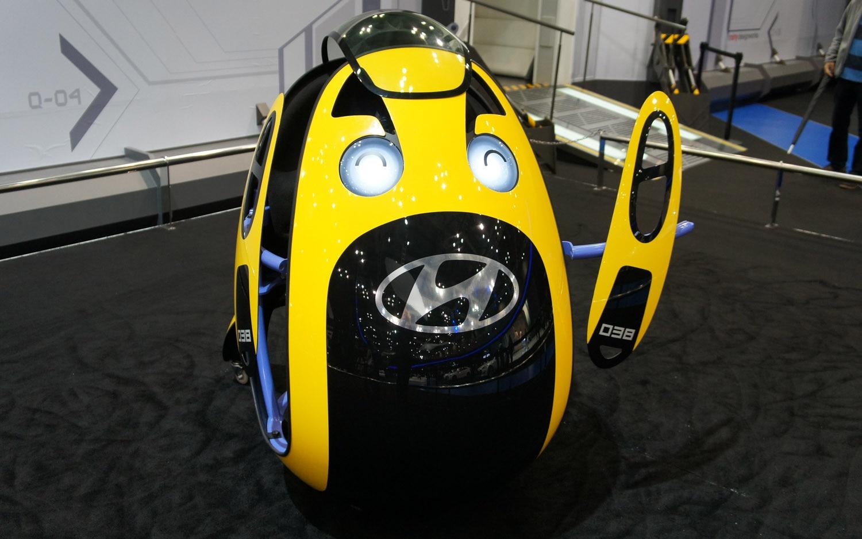 Hyundai IDEA Concept E4U Front View1