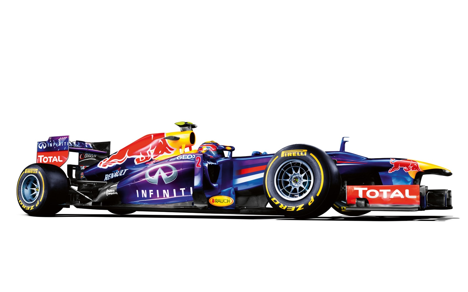 Infiniti Formula 1 Right Side View1